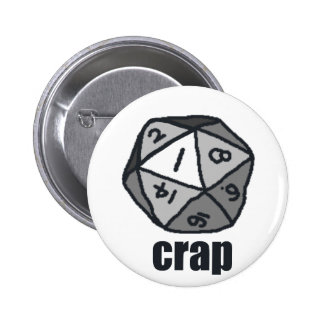 Crap Pinback Buttons