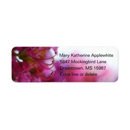 Crape Myrtle Return Address Labels