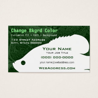 Crappie Fish Business Card