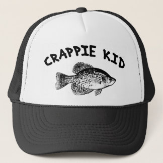 CRAPPIE KID TRUCKER HAT
