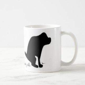 """Crapping on Puppy Mills"" Basic White Mug"