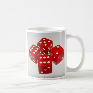 Craps Anyone Coffee Cup Basic White Mug