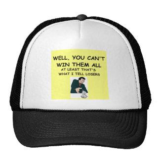 craps mesh hat