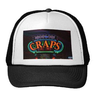 Craps Sign - Las Vegas Trucker Hat