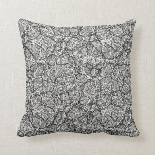 """Craquelure Effect Web Pattern """"Pick The Colour"""" 4 Cushion"""
