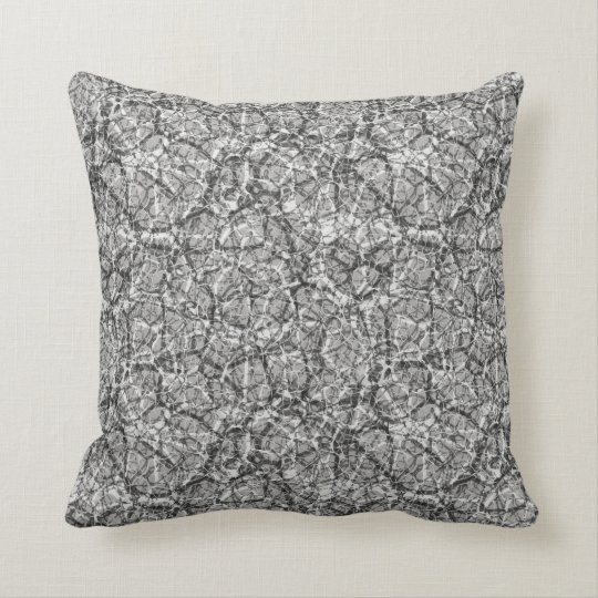 "Craquelure Effect Web Pattern ""Pick The Colour"" 4 Throw Pillow"