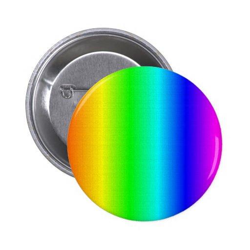 Craqulure Rainbow Pinback Button