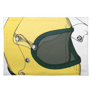 Crash Helmet Placemat