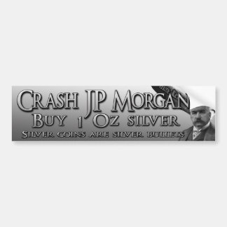 Crash JP Morgan Bumper Sticker