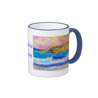 crash of a wave mug