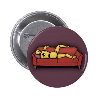 Crash Pad Dummy 6 Cm Round Badge