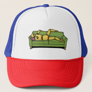 Crash Pad Tets Dummy Trucker Hat
