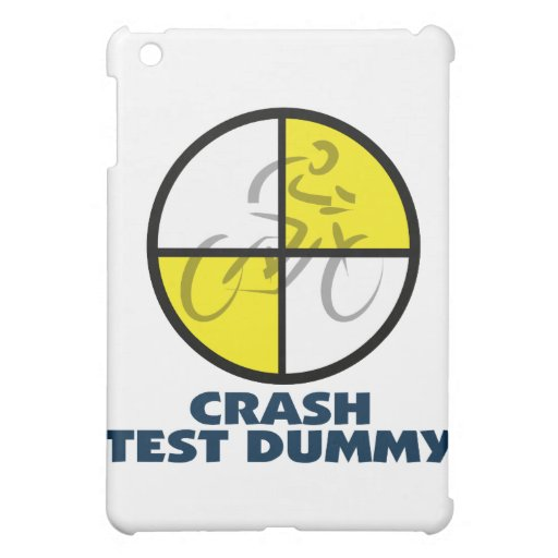 CRASH TEST DUMMY - bike Cover For The iPad Mini