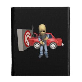 Crash Test Dummy iPad Cases
