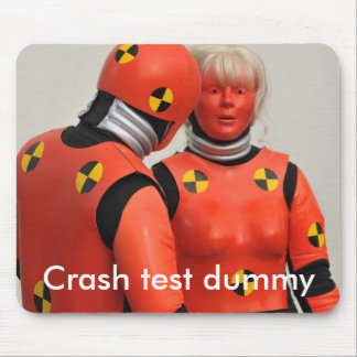 Crash test dummy mousemat