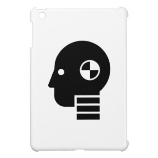 Crash Test Dummy Pictogram iPad Mini Case