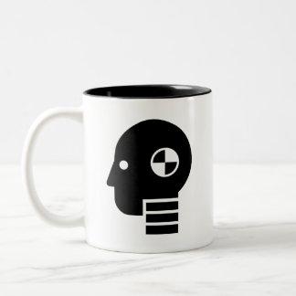 Crash Test Dummy Pictogram Mug