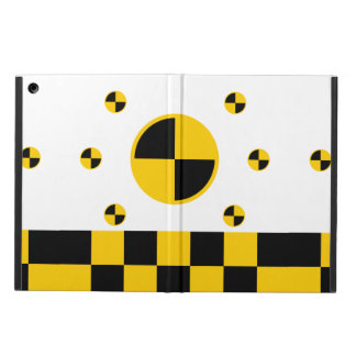Crash Test Markers iPad Air Cases