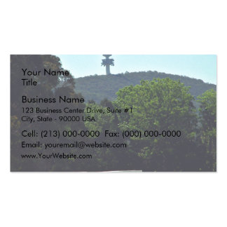 Crashed Communications tower Business Cards