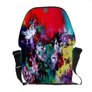 Crashing Colors Messenger Bag