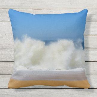 Crashing Ocean Waves Outdoor Outdoor Cushion