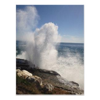 Crashing Wave Art Photo