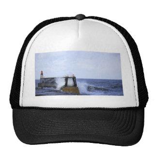 Crashing wave trucker hat
