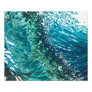 Crashing Wave Ocean Photo Print by Margaret Juul