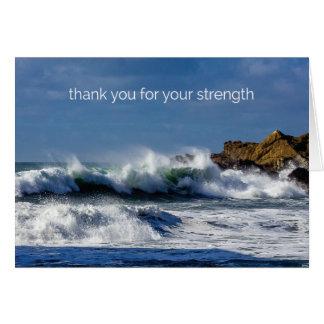 Crashing Waves at Big Sur - Note Card