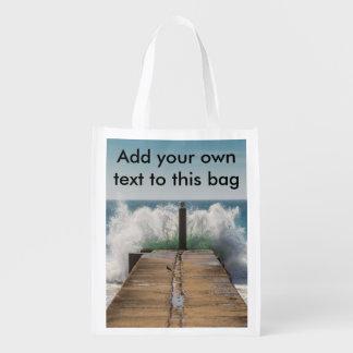 Crashing waves bag
