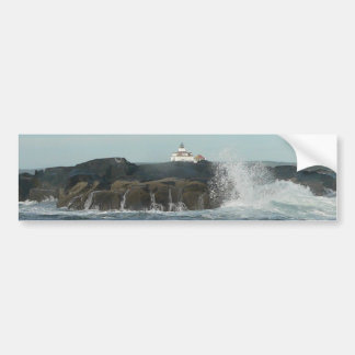 Crashing Waves Bumper Sticker
