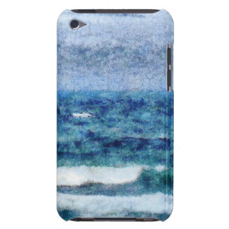 Crashing waves iPod touch cases