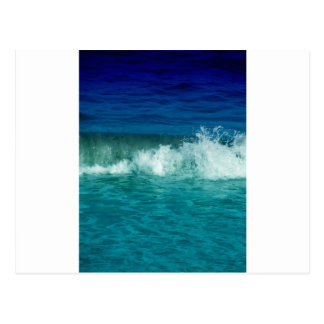 Crashing Waves Postcard