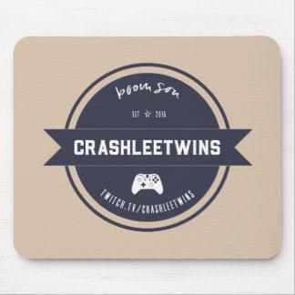 CrashleeTwins Vintage Mouse Pad