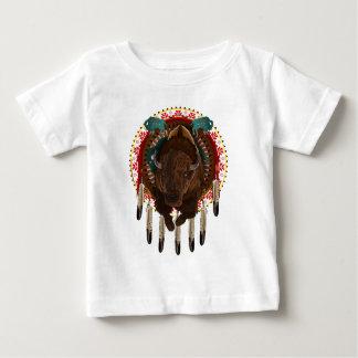 Cratemade Native American Buffalo design Baby T-Shirt