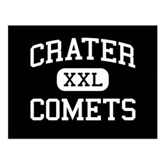 Crater - Comets - High - Central Point Oregon Postcard