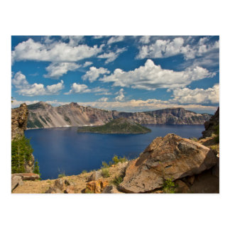 Crater Lake and Wizard Island, Crater Lake Postcard
