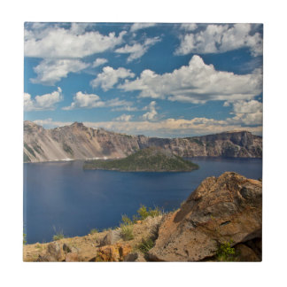 Crater Lake and Wizard Island, Crater Lake Tile