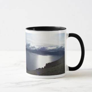 Crater Lake clouds Mug