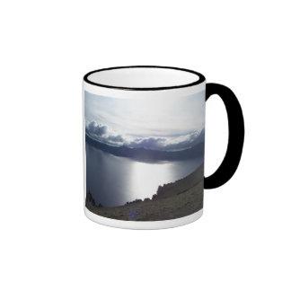 Crater Lake clouds Coffee Mug
