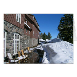 Crater Lake Lodge in June Card