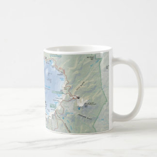 Crater Lake map mug