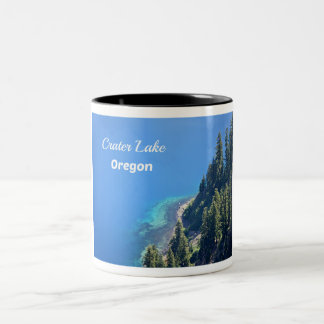 Crater Lake National Park, OR Two-Tone Coffee Mug