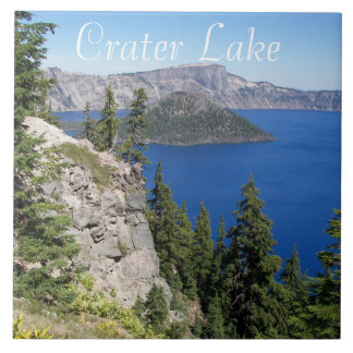 Crater Lake National Park Photo Ceramic Tile