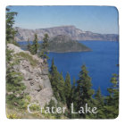 Crater Lake National Park Photo Trivet