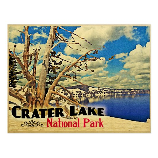 Crater Lake National Park Postcards