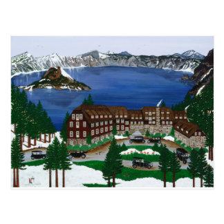 Crater Lake National Park Postcard