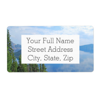 Crater Lake National Park Shipping Label
