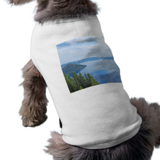 Crater Lake National Park Sleeveless Dog Shirt