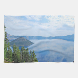 Crater Lake National Park Tea Towel